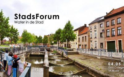 StadsForum 2018: water in de stad