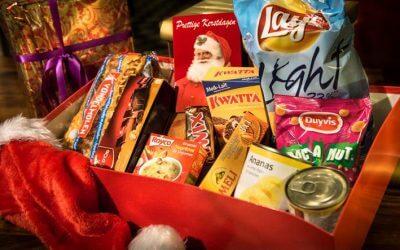 Een kerstcadeau voor iedereen met de Shoe-Box