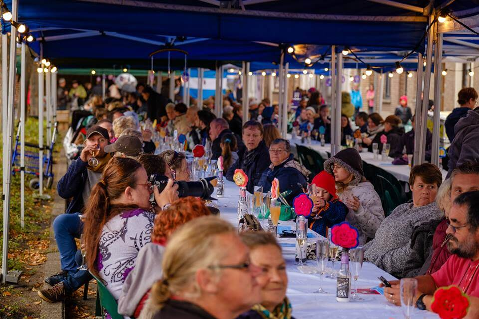 Programma Langste Eettafel 2019